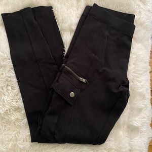 Express stretch pants with side pockets